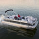outboard pontoon boat / tri-tube / wakeboard / 12-person max.