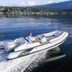 outboard inflatable boat / RIB / side console / fiberglass