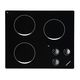 electric cooktop / for boats / three-burner / built-in