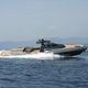 inboard inflatable boat / semi-rigid / center console / fiberglass