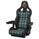 helm seat / for offshore power boats / with armrests / adjustable