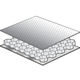 soundproofing sandwich panel / aluminum honeycomb / aluminum