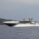 high-speed motor yacht / hard-top / GRP / planing hull