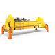 loaded container spreader / ship-to-shore crane / telescopic / electro-hydraulic