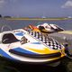 electric aquatic center boat
