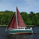 cruising sailboat / with enclosed cockpit / 4-berth / cutter