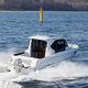 outboard cabin cruiser / hard-top / wheelhouse / sport-fishing