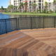 dock handrail