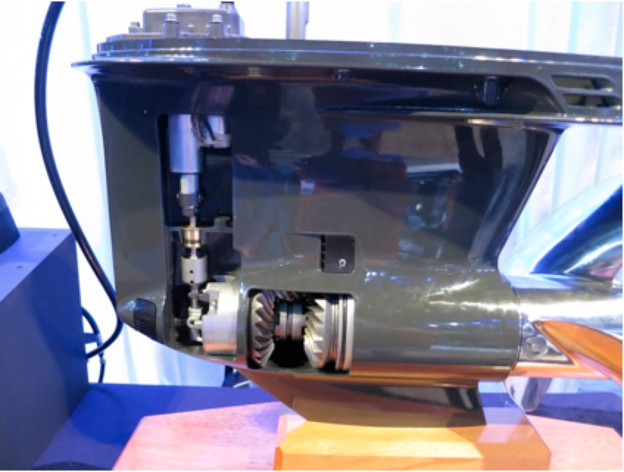 A LOOK INSIDE THE NEW EVINRUDE OUTBOARDS - 10101 Science Dr