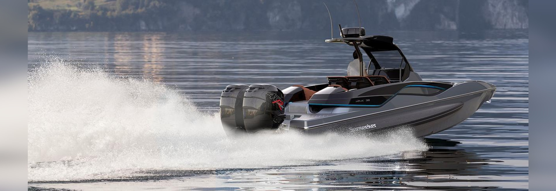 The 11.85 metre day boat has a top speed of 62 knots