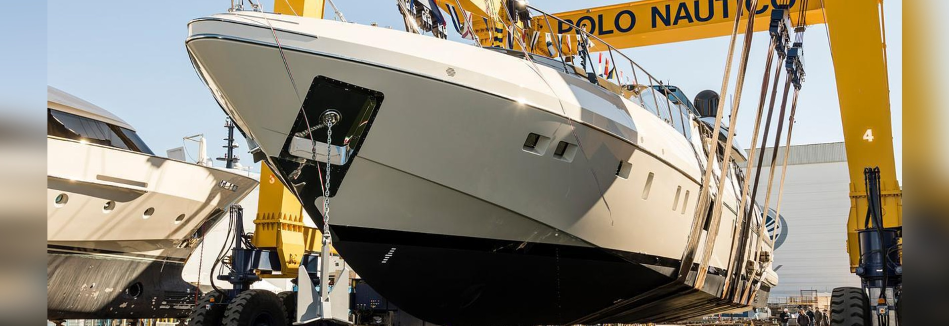 """The 33.8 metre yacht was launched on February 25 """""""