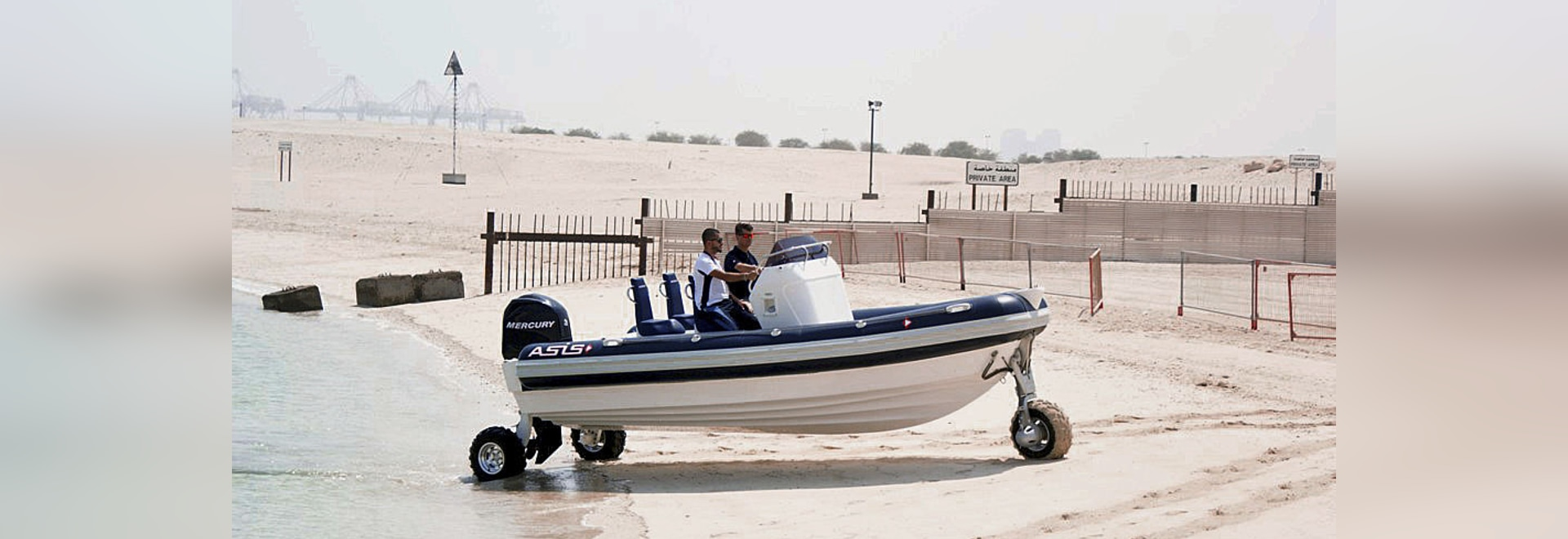 ASIS Amphibious Boat is making waves in boating industry after its launching