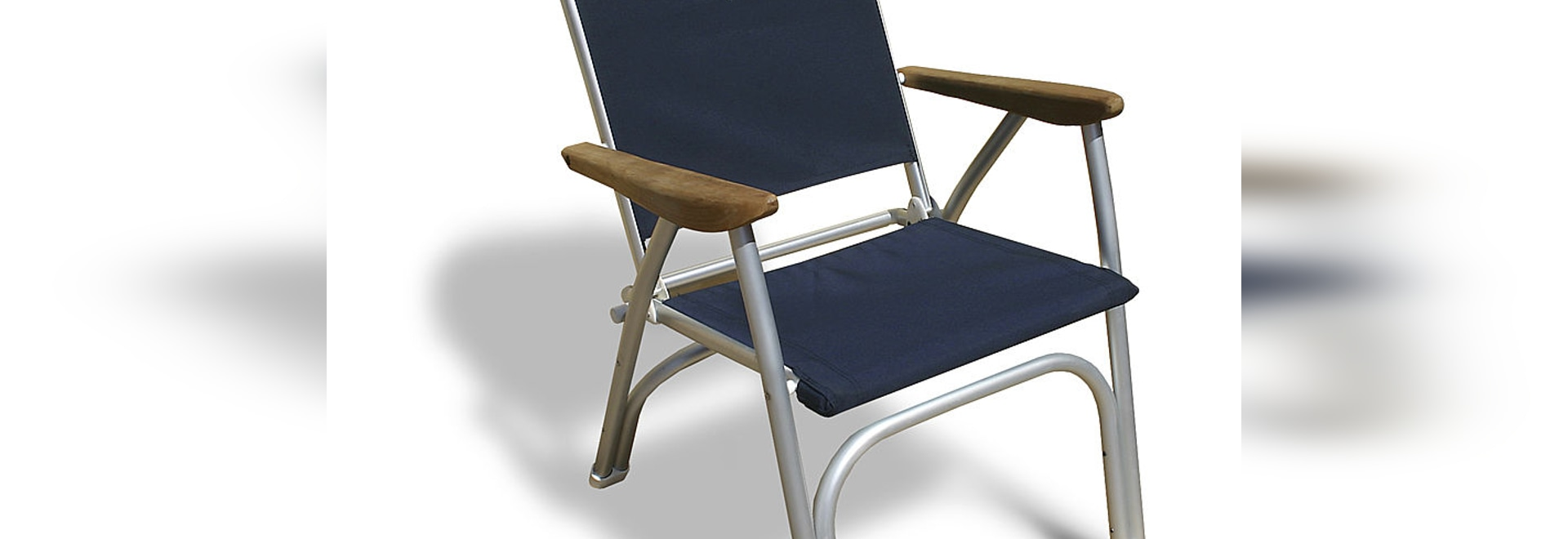 "B100NB ""Heavy Duty "" Folding Aluminium Deck Chair FORMA for Robust Boaters"