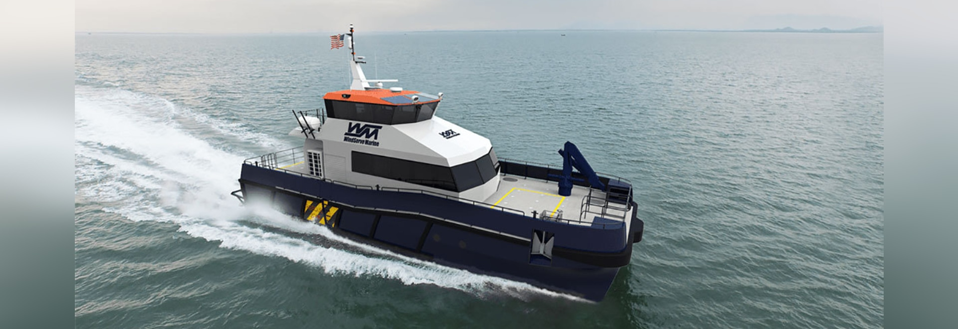 The CTVs will be a high-speed, custom design from BMT Group