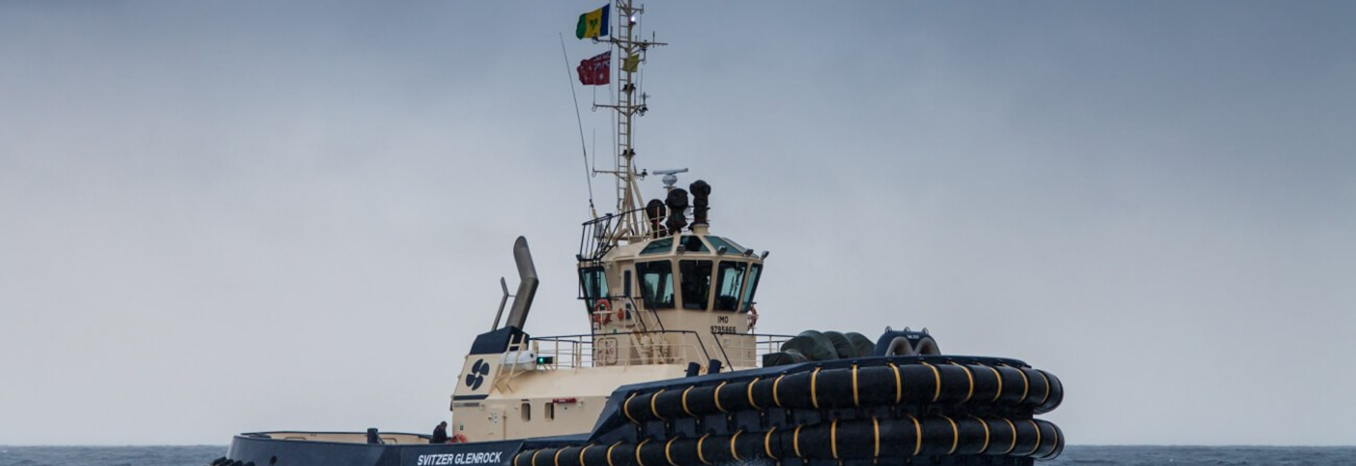 DAMEN ASD TUG 3212 SVITZER GLENROCK DELIVERED TO SVITZER AUSTRALIA