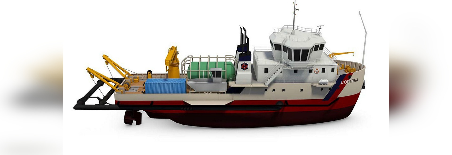 Dredge will use water injection dredging system
