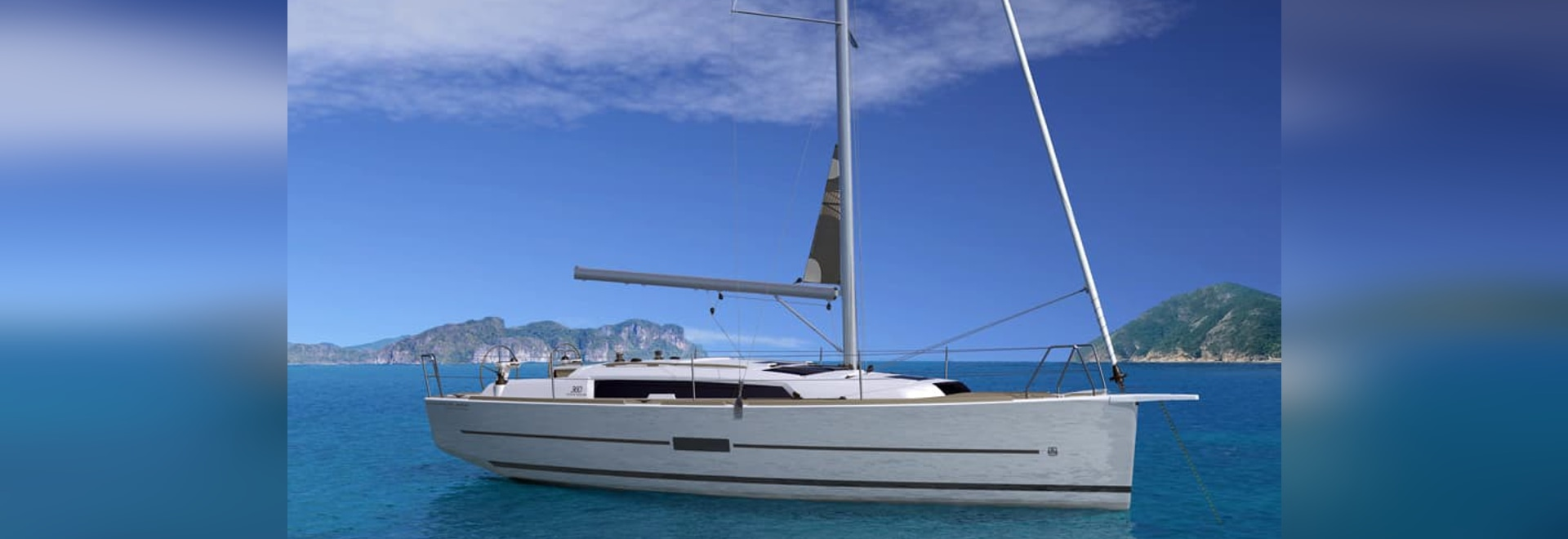 The Dufour 360 Grand Large will be on show at TheYachtMarket.com Southampton Boat Show
