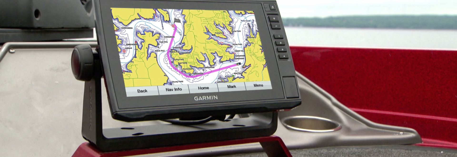 The Echomap Plus multifunction units now have upgraded cartography for coastal and inland fishing.