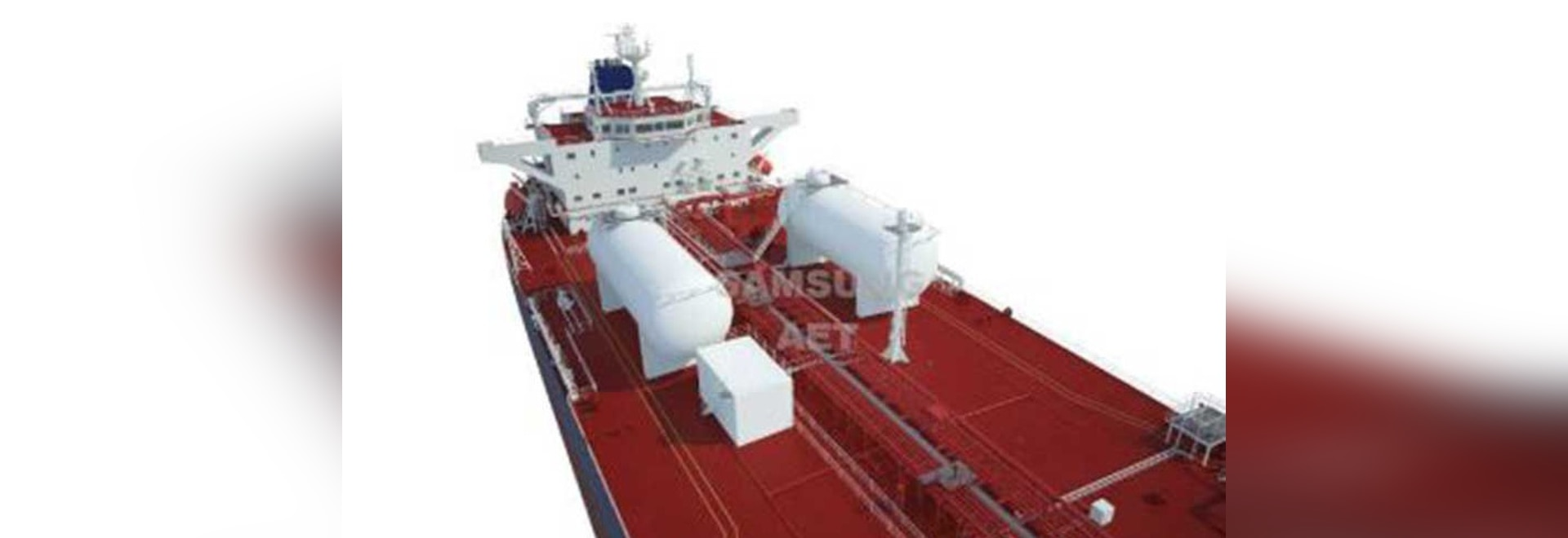 Fitted with twin LNG tanks, the vessels will have the ability to trade on LNG fuel for about a month before refueling