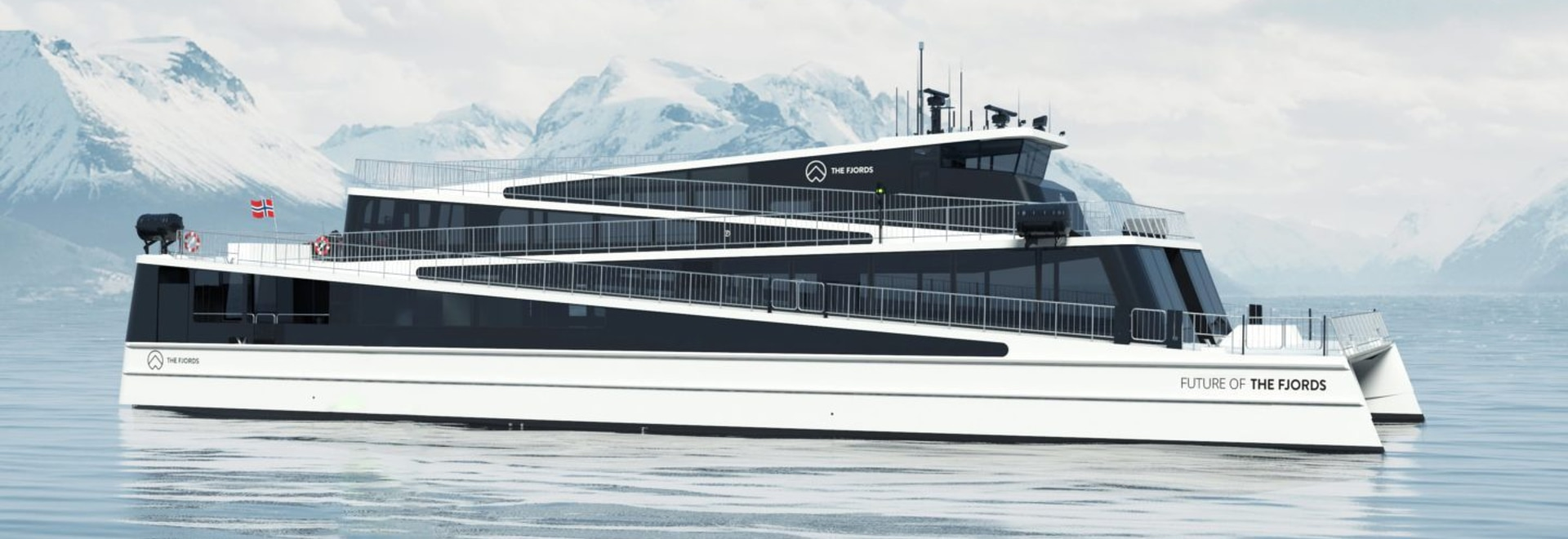Future of The Fjords revealed with ground breaking zero emission passenger vessel