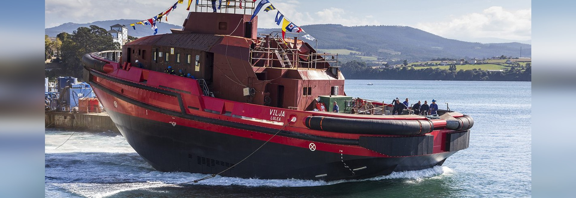 Gondán launches new hybrid icebreaker tug