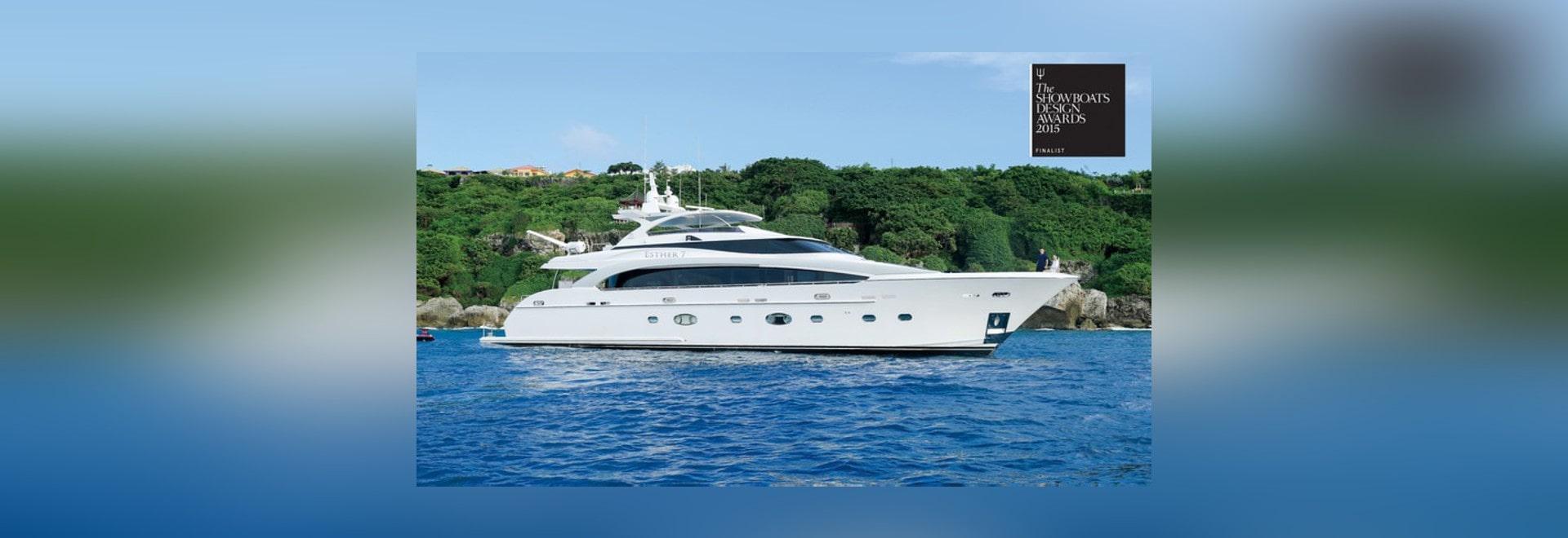 Horizon RP110 Yacht ESTHER 7 among ShowBoats Design Awards 2015 Finalists