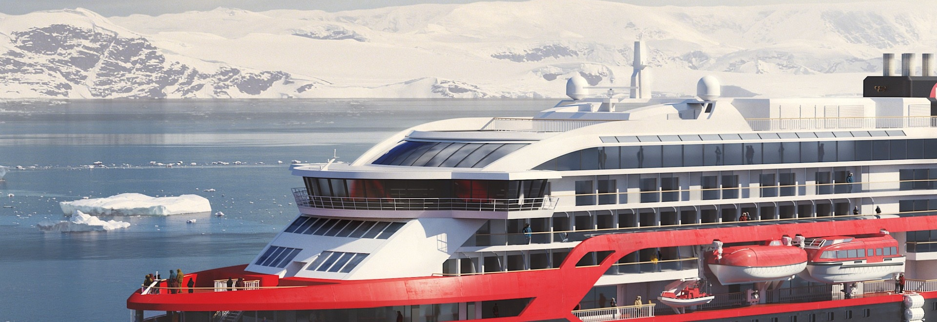 Hurtigruten launches new hybrid cruise ship