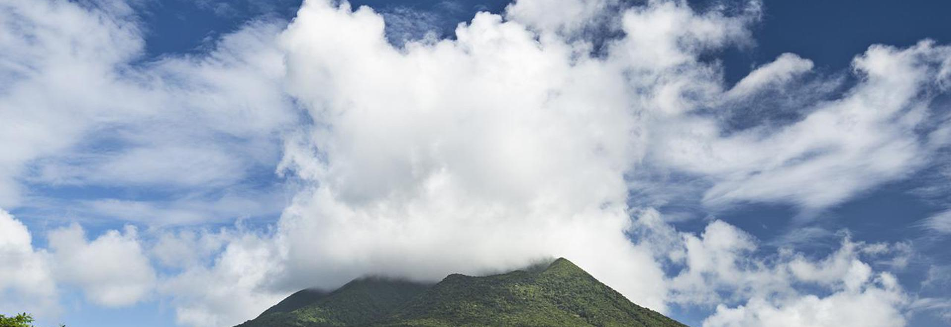 THE LUSH GREENERY OF ST KITTS AND NEVIS