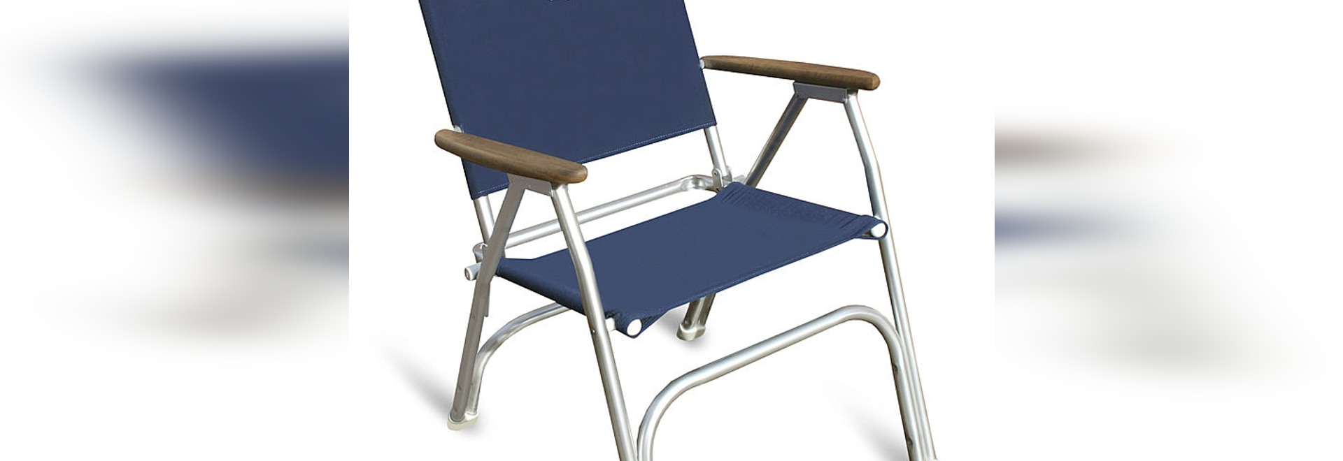 M100HB U201cHigh Back U201d FORMA Folding Aluminium Deck Chair For Extreme Back  Support