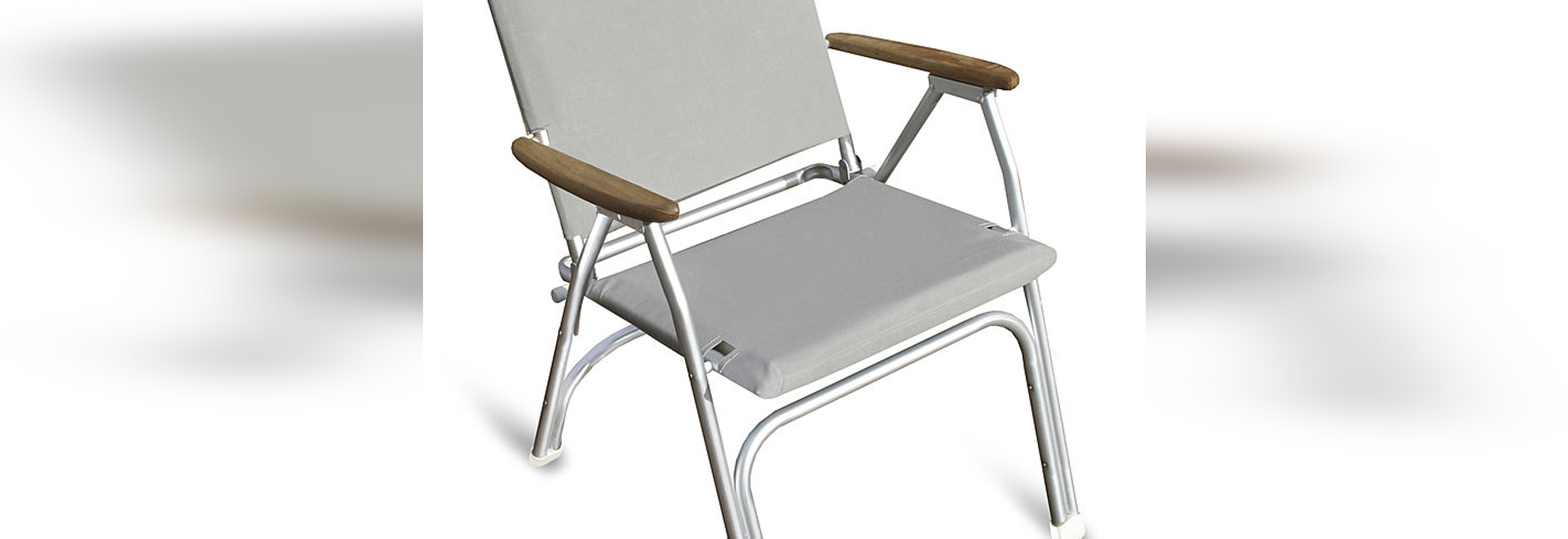 "M100LPG ""Deluxe"" Folding Aluminium Deck Chair for Added Comfort!"