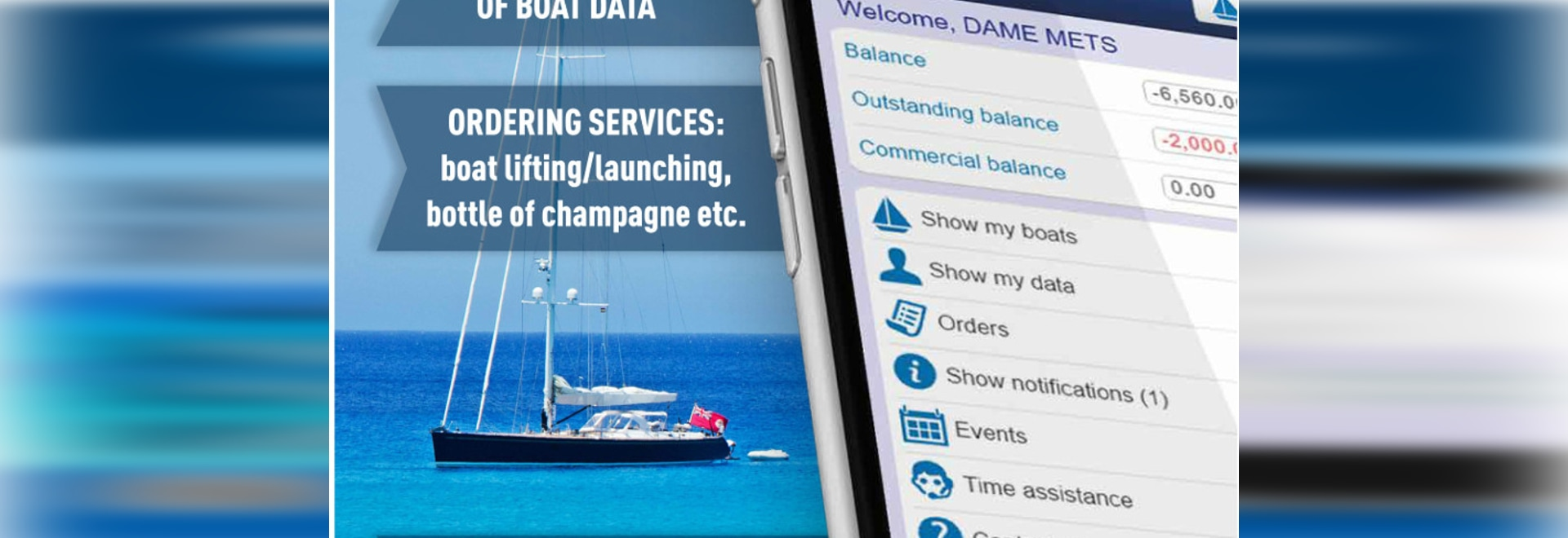 myMarina - new integrated cloud-based CRM focusing on improved boater's experience
