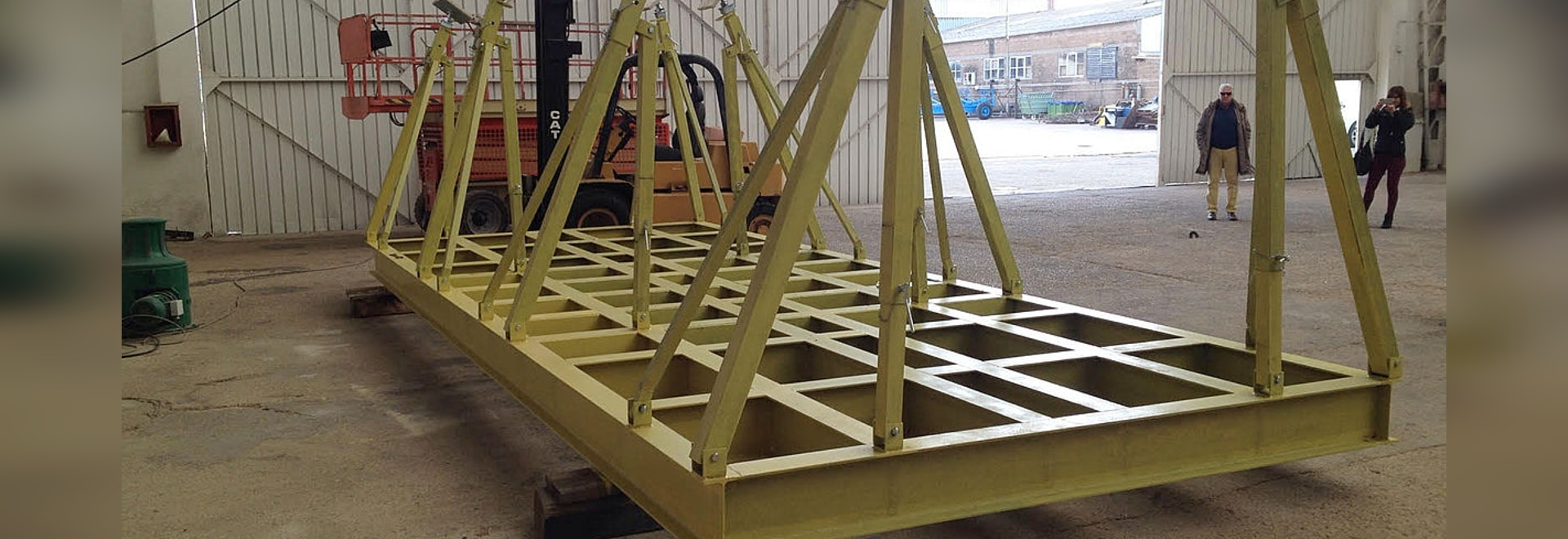New construction of Cradles for Sailboats 50 tons!