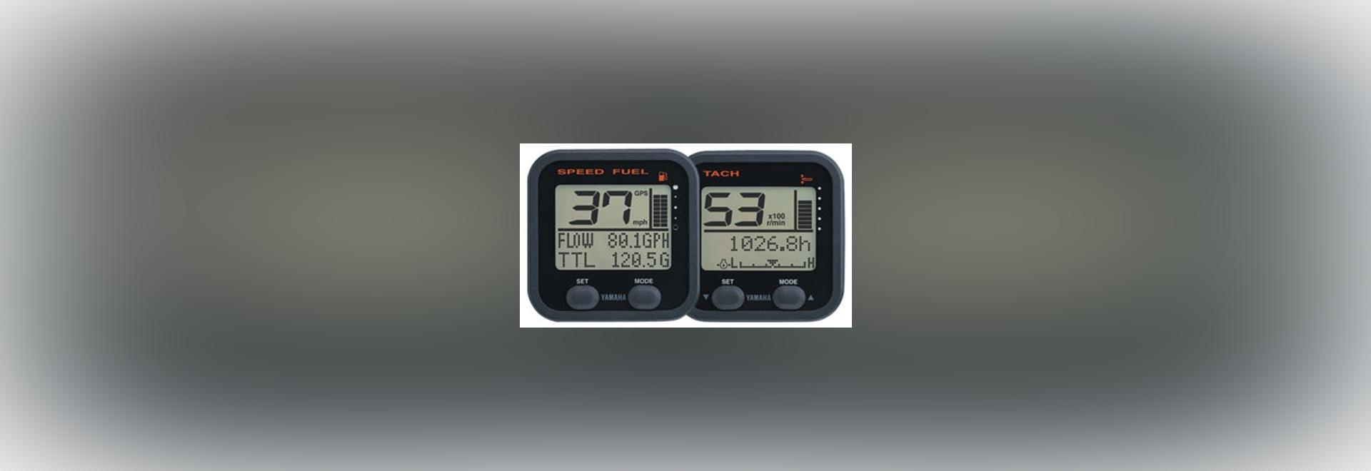 New: digital gauge by Yamah Outboard Motors
