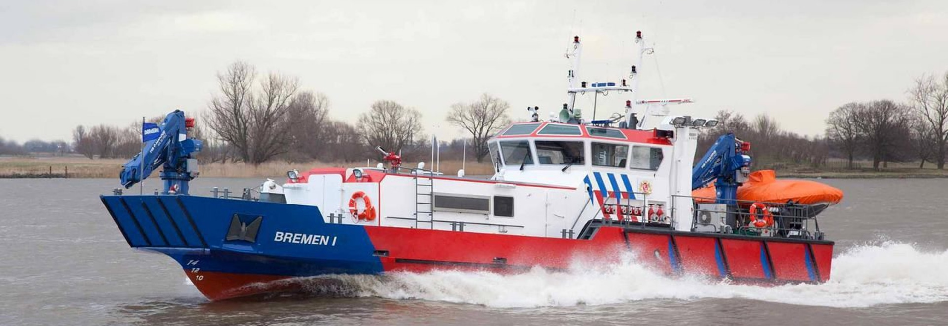 NEW: fireboat by Damen