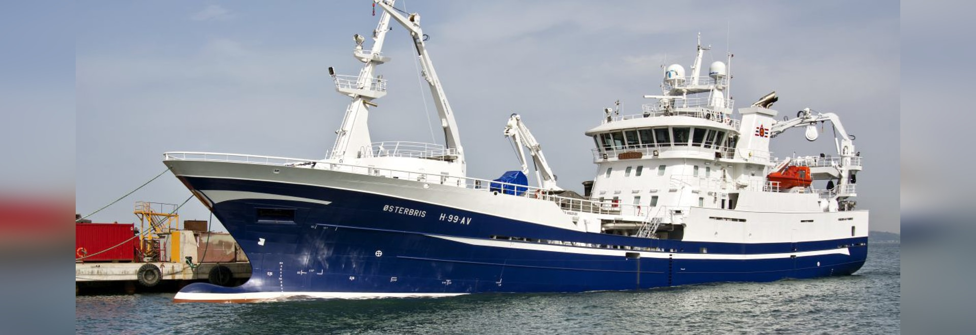 NEW: fishing trawler professional fishing-vessel by Cemre Shipyard