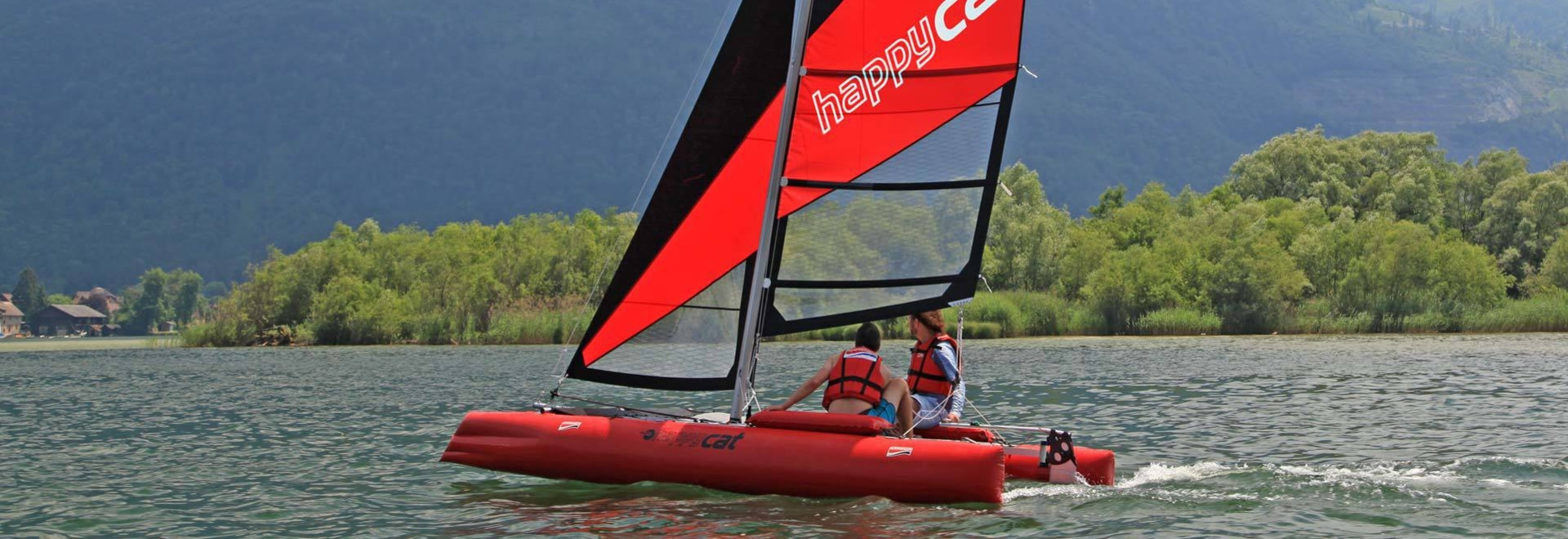 NEW Masthead float for HAPPY CAT portable catamaran