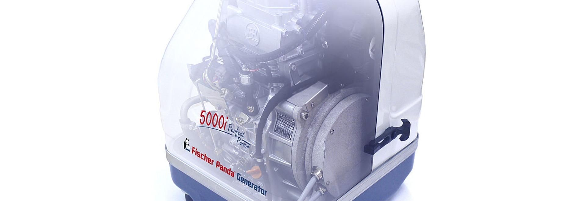 The new Panda 5000i.Neo Marine Generator