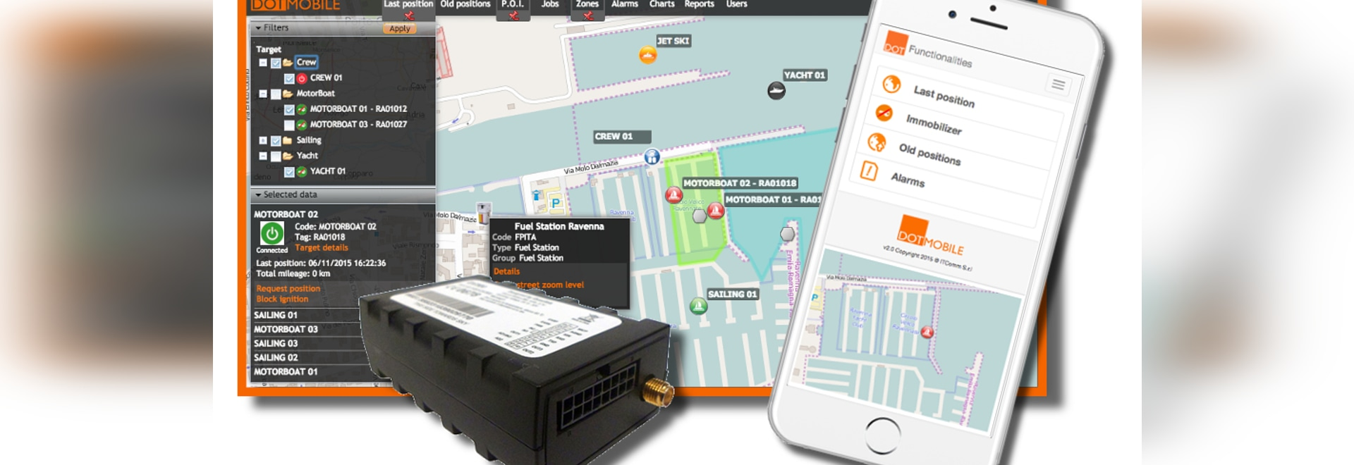 New PAYperUSE and PLAN DOTMobile Watercraft Tracking