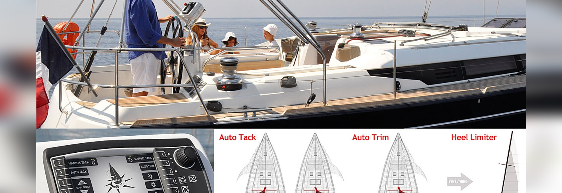 NEW: sail-trimming monitoring and control system by Harken