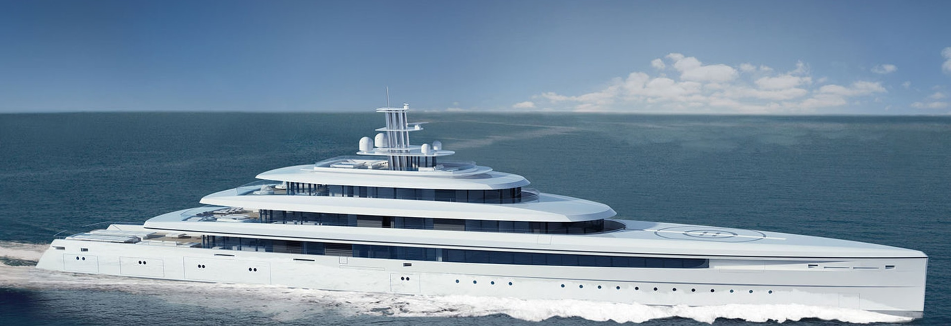 NEW Steel Mega Yacht By Oceanco