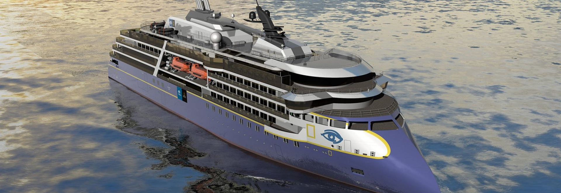 New vessel will follow National Geographic Endurance (above), which is scheduled for delivery from Ulstein's Ulsteinvik, Norway, shipyard in 2020