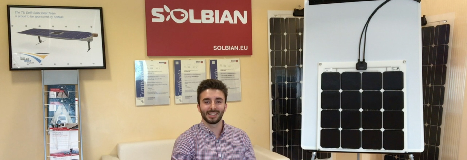 "A new video on Solbian ""SP series"" panels"