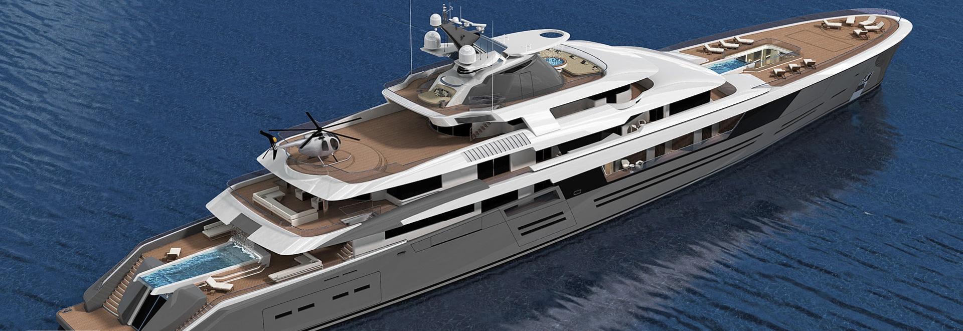 Nobiskrug's 90m superyacht concept Legato