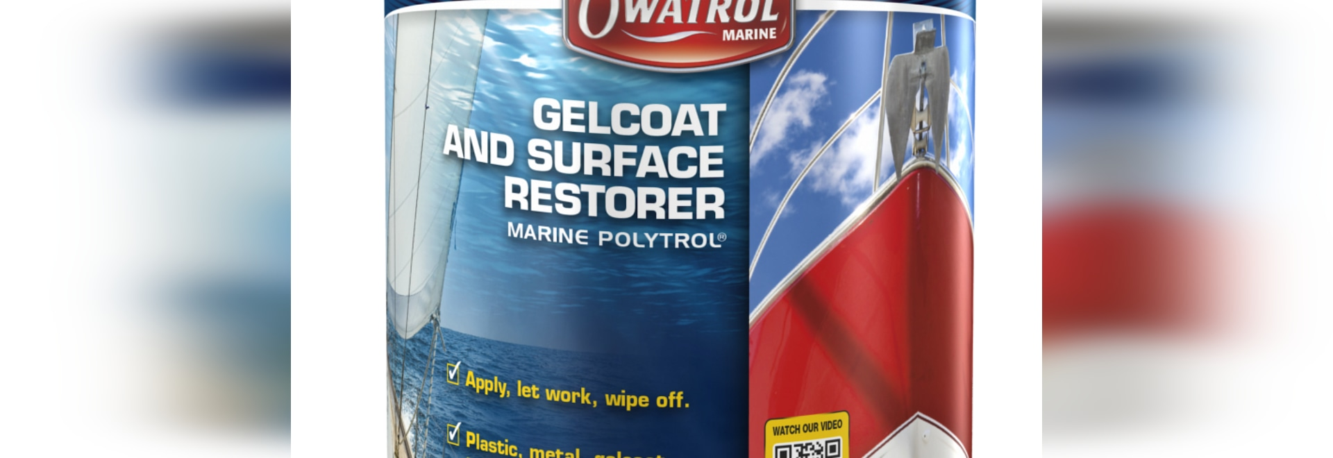 Owatrol's new products complement its Marine Polytrol colour restorer