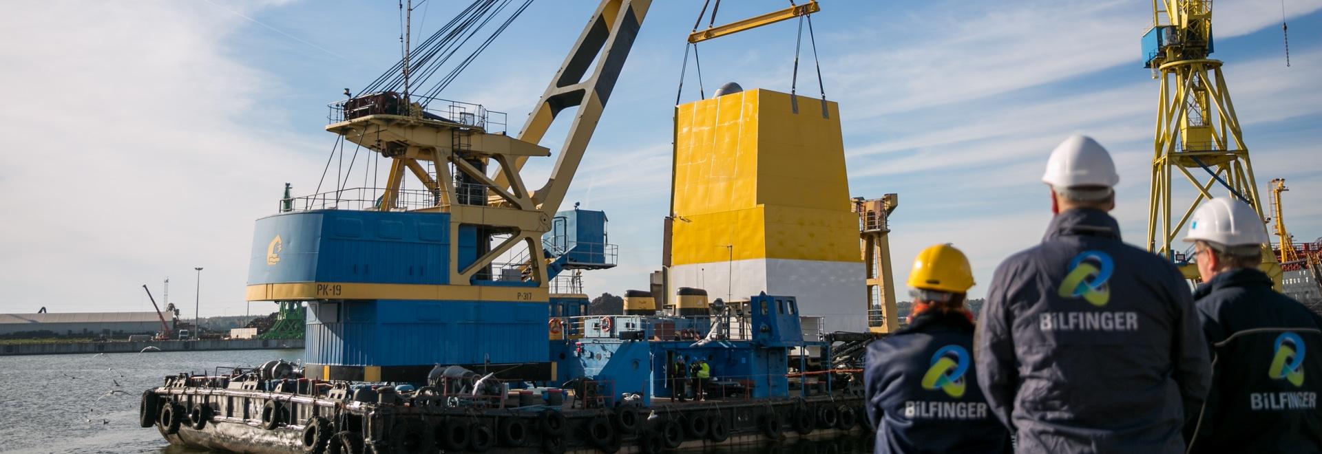 A pilot project on the ocean tanker Aurelia demonstrating Bilfinger's solution for desulfurization of ship engines. Image Courtesy: Bilfinger SE