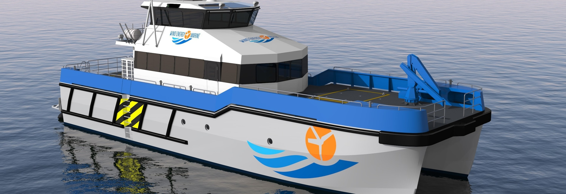 PIRIOU secures an order for two wind farm support vessels for WIND ENERGY MARINE