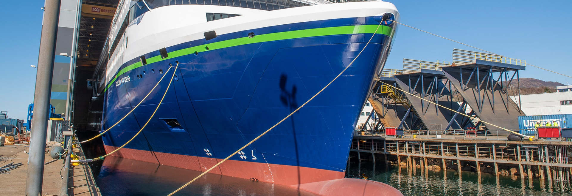 Plug-in hybrid vessel Color Hybrid launched by Ulstein