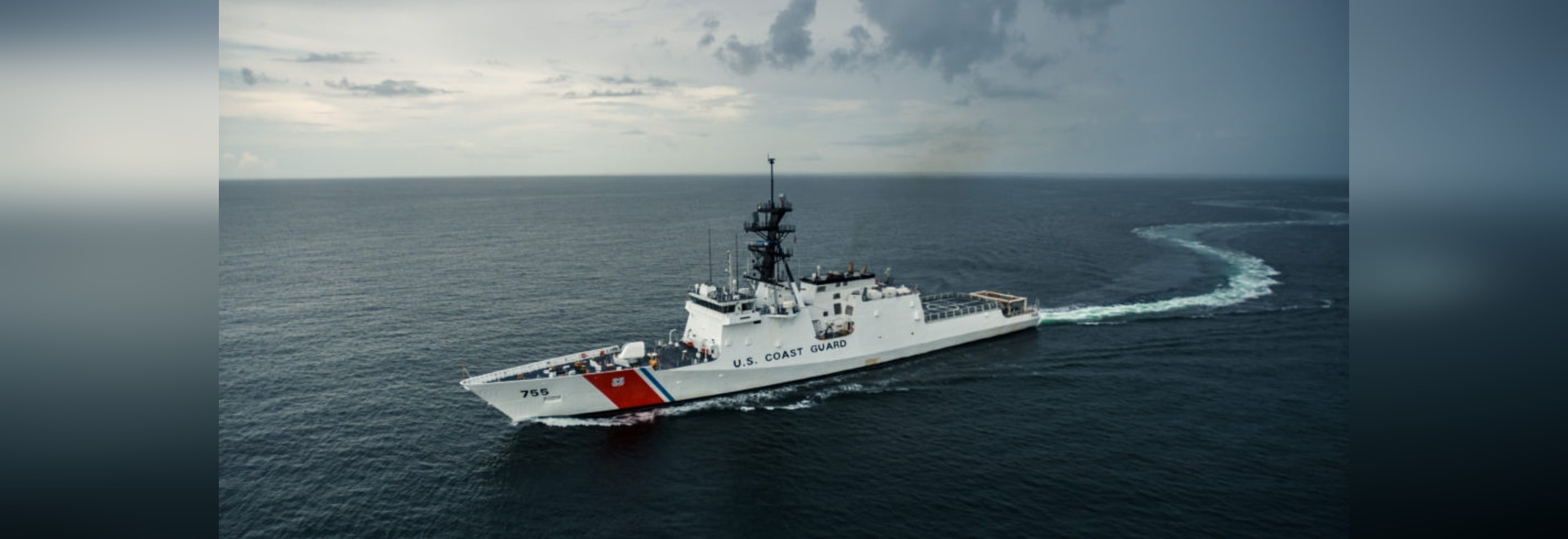 Recently delivered National Security Cutter Munro (WMSL 755)