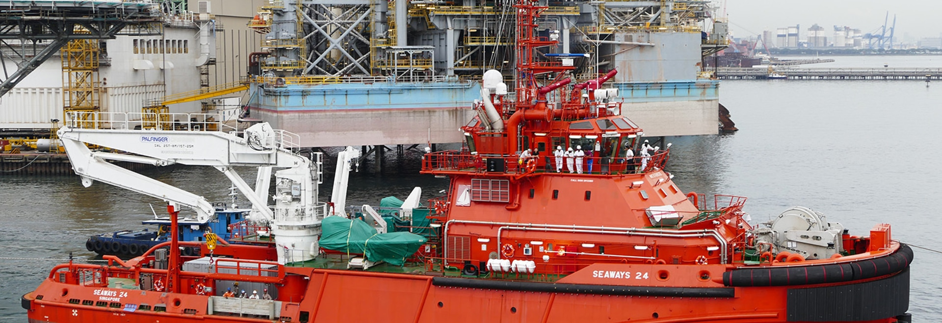 'Seaways 24' is a significant hybrid delivery from Keppel Simgmarine (RAL)
