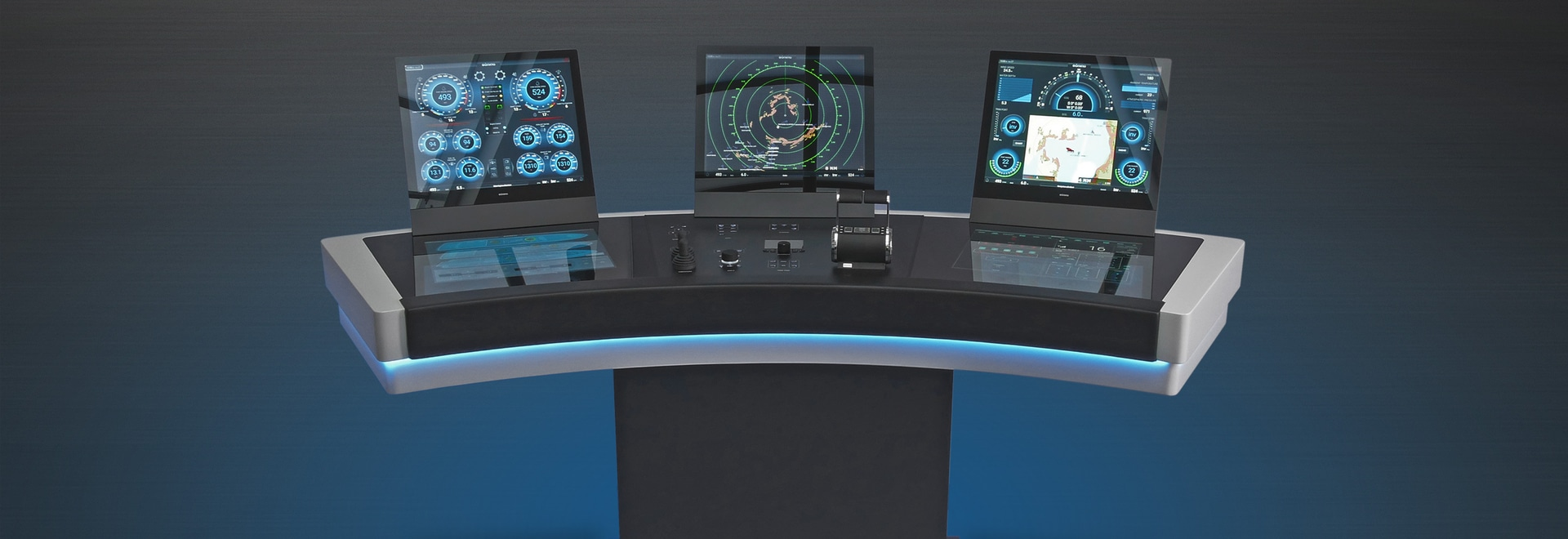 SI-19 Ultra Wide display with the new Electrical control system